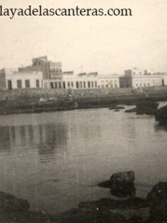 Playa Chica in the late 40's