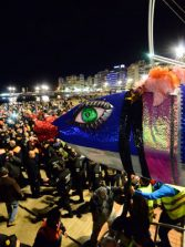 """Este domingo, la quema de la sardina en Las Canteras pondrá fin al Carnaval de """"Una noche en Río"""""""