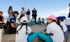 Ciudad de Mar impulsa la playa de Las Canteras como aula de educación ambiental al aire libre