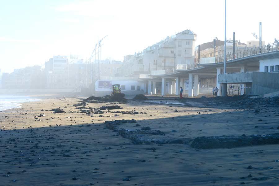 A 2 meses de su anuncio, aún no hay noticias del estudio para extraer los escombros bajo la pasarela