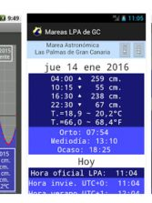 Playero jubilado desarrolla un app para saber las mareas de Las Canteras