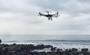 La Guardia Civil vigila con drones la bahía de El Confital
