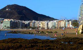Los hoteles y apartamentos de Las Palmas de Gran Canaria cerraron 2018 con la mayor cifra de viajeros alojados de su historia