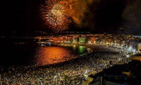 No se podrá bajar a la arena de la playa de Las Canteras en la noche de San Juan