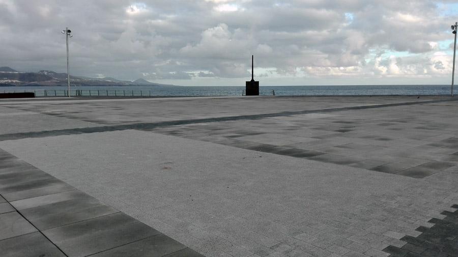 Se acaban las obras en la plaza de La Puntilla