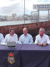 El histórico barquillo Frasco viaja a La Palma para enseñar vela latina