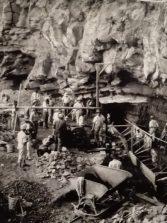 Obras de alcantarillado en Los Nidillos 1927