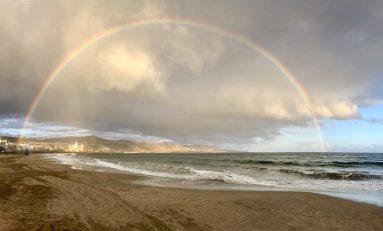 Hermoso arcoíris