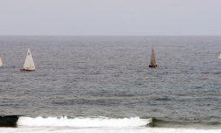 """El """"Sofcan-Canarias Ambiental"""" vencedor de las regatas de barquillos en su vuelta a Las Canteras"""