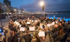 La Banda Sinfónica Municipal de Las Palmas de Gran Canaria vuelve a reunirse sobre la arena de Las Canteras