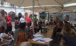 Los vecinos de las calles del entorno de Las Canteras crean una plataforma para luchar por un barrio más amable