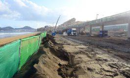 La nueva playa de la Cicer espera por su arena