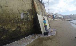 El muro ve pintura