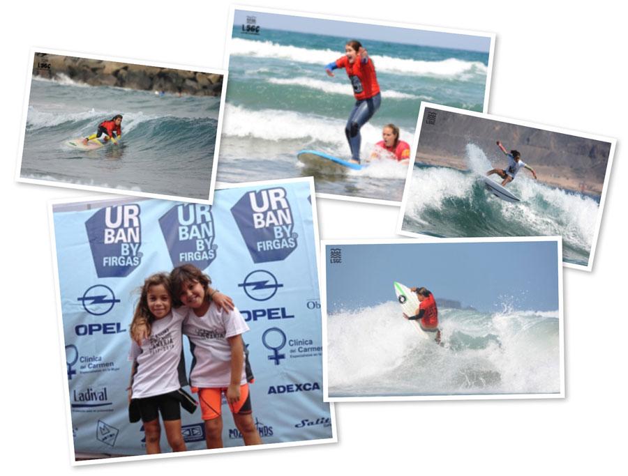 Llega la Liga Urban de surf a Las Canteras
