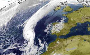 Ophelia, un huracán para la historia