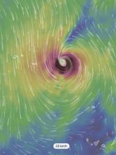 Ophelia se convierte en el décimo huracán de la temporada al oeste de Canarias. Se irá debilitando camino del norte peninsular