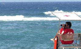 Llega octubre y disminuye el servicio que da la Cruz Roja en Las Canteras y El Confital
