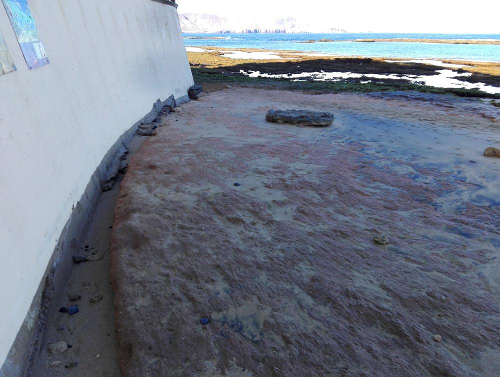 La arcilla prehistórica de Playa Chica