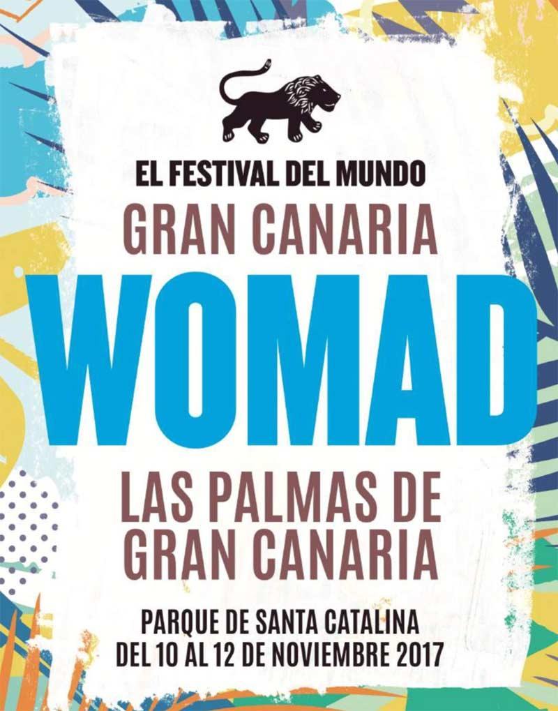 WOMAD 2017. Programa