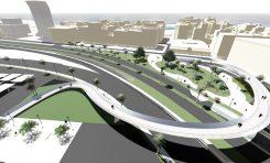La pasarela Onda Atlántica estará construida en verano del 2018