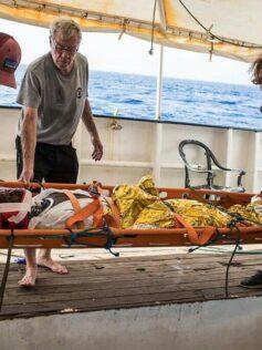 Pepe Casas, un canterano a bordo del Astral, buque insignia de Open Arms en el rescate de refugiados