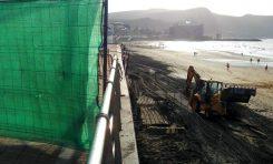 Todo lo que necesita saber del traslado de arena seca de la Playa Grande a la Cicer