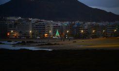 Una noche de diciembre en Las Canteras