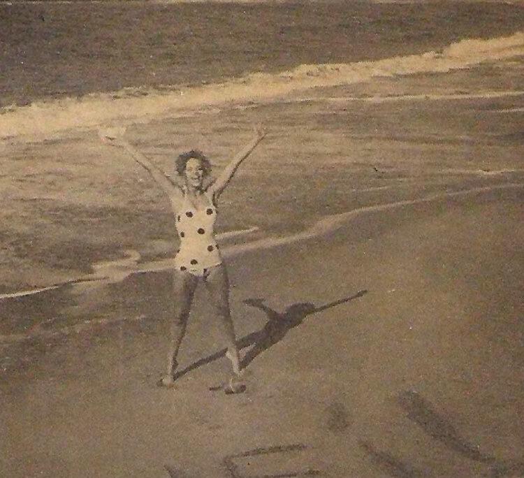 1960: la cantante sueca Lill-Babs en Las Canteras