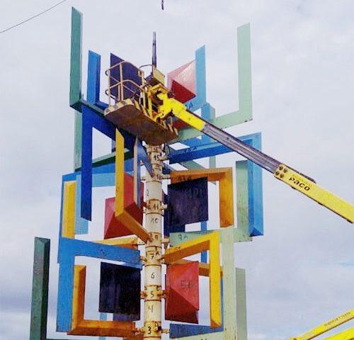 """La Fundación César Manrique no cree posible que la escultura original """"Juguete del Viento"""" vuelva a La Puntilla"""