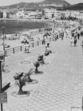 La calle Sagasta en los años 50