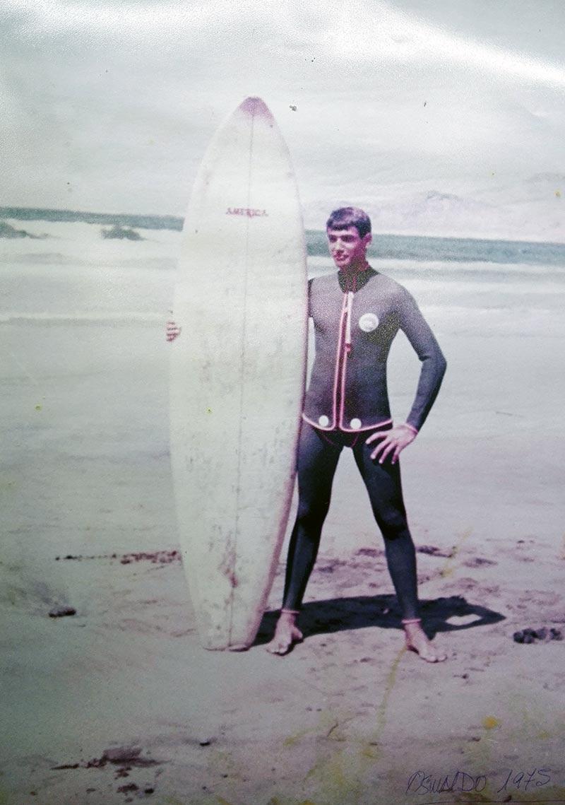 """En memoria de Oswaldo """"el Capitán América"""""""