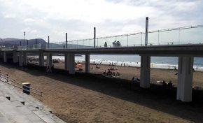 El Ayuntamiento cerrará los próximos días 2 y 4 de julio de forma temporal el tránsito de viandantes por la pasarela de la Cicer