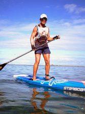 José Carlos Monteiro con su paddle