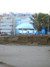Un escalón de arena