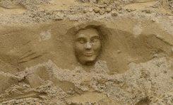 El rostro de la arena