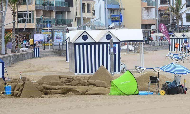 Ciudad de Mar quiere ordenar la actividad de las esculturas de arena