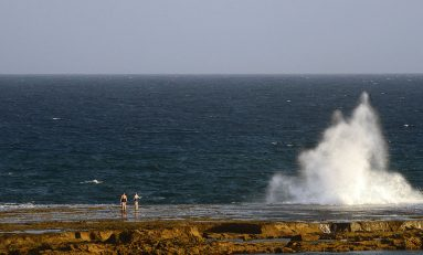 La barra nos protege de las olas