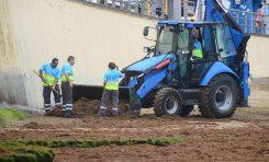 Se suspende la limpieza y recogida de la seba de Las Canteras por 15 días
