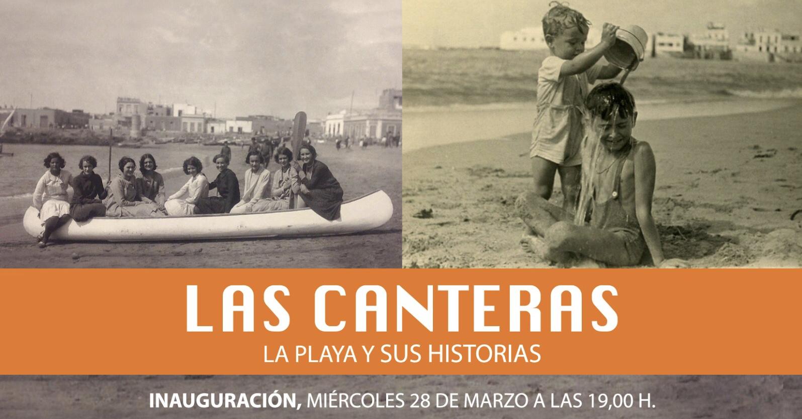 """Llega la exposición """"Las Canteras, la playa y sus historias"""""""