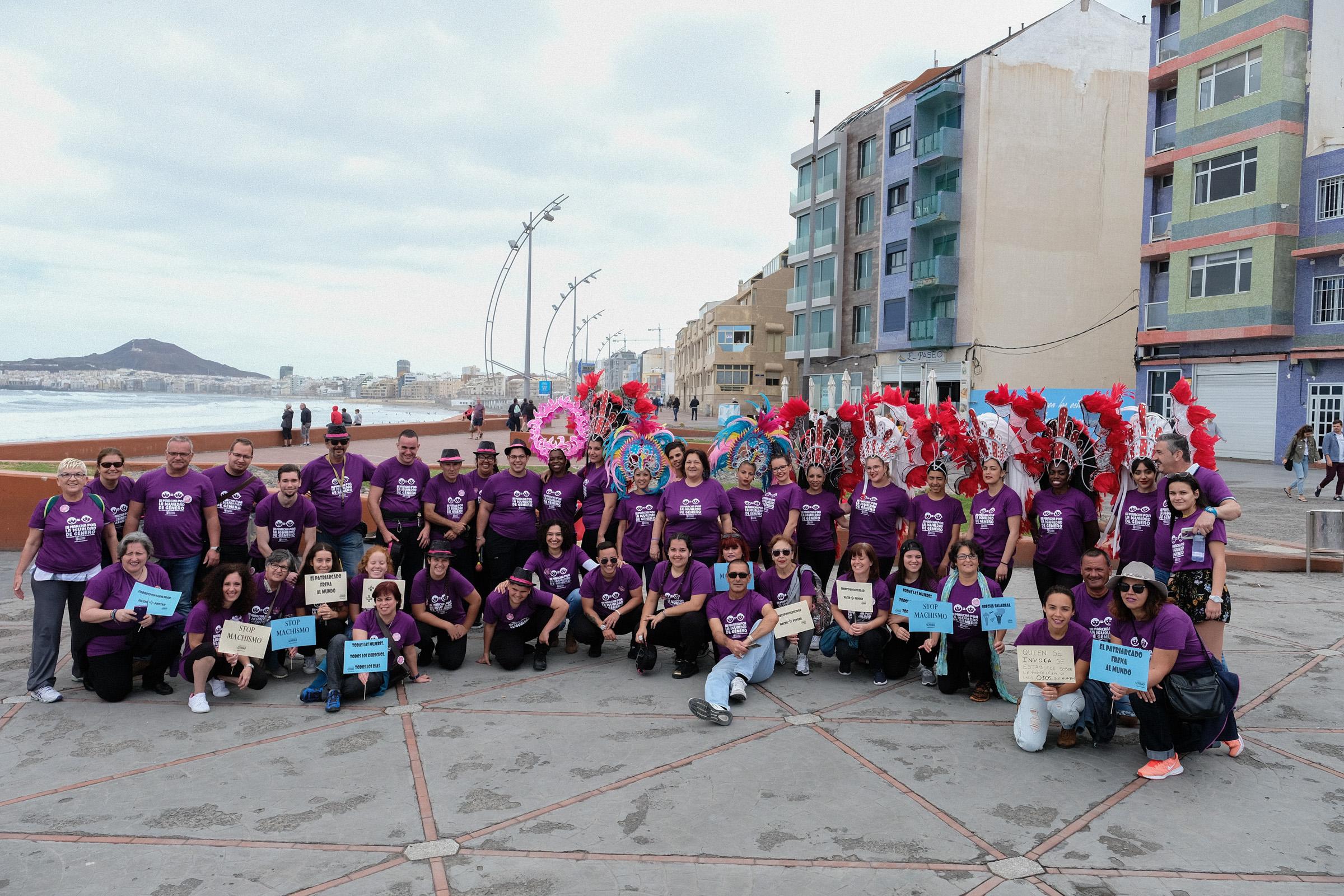 Se celebra la 3ª Marcha por la Igualdad de Género en Las Canteras