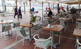 9,65 euros mesa/ mes pagarán los locales por sus terrazas en Las Canteras