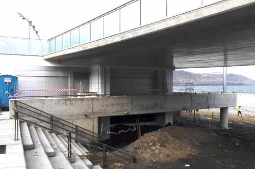 El Ayuntamiento culminará en marzo las obras del nuevo puesto para la Policía Local en la Cicer