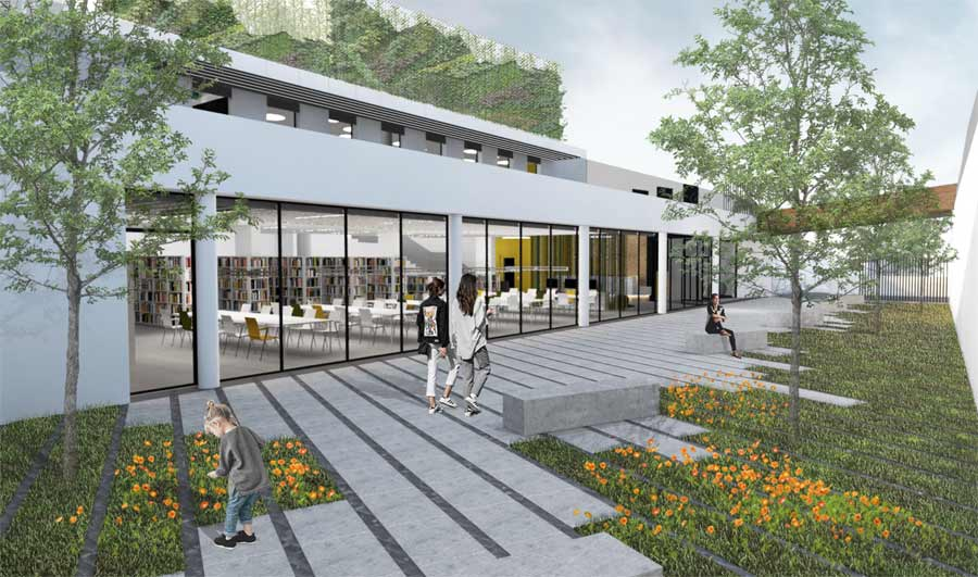 El Ayuntamiento iniciará en verano la construcción de la nueva Biblioteca Josefina de la Torre en Las Canteras