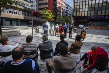 Se dedica la plaza creada tras el Hotel AC al doctor Manuel Monasterio, 'El médico de los pobres'