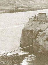 La peña de la Gaviota y el balneario del Cristo Rincón