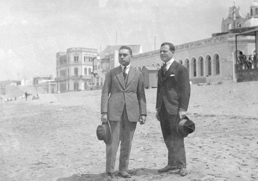 1900. Se construye el hospital San José