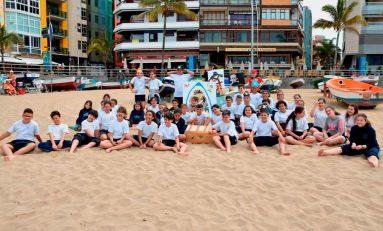 Ciudad de Mar sensibiliza a los escolares de la capital sobre el cuidado ambiental de las playas