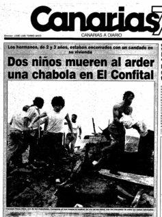 """19 de marzo de 1990: un """"Día del Padre"""" marcado por la tragedia en El Confital"""