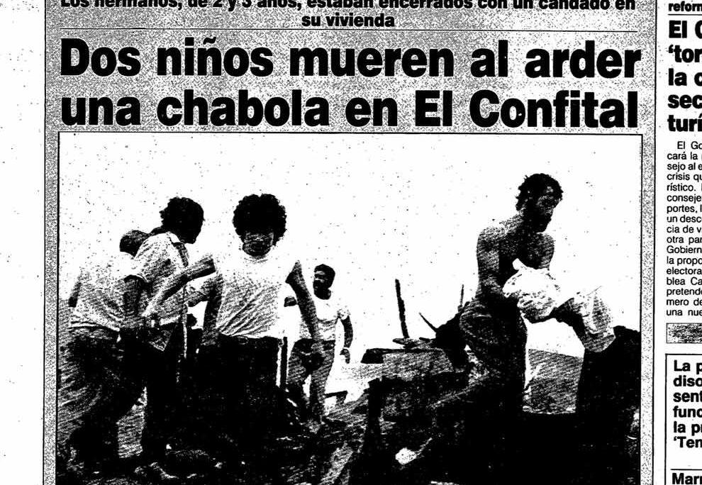 19 de marzo de 1990: un «Día del Padre» marcado por la tragedia en El Confital