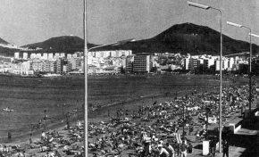 Las farolas en 1968